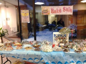Women's Auxiliary Bake Sale