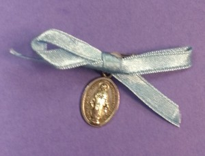 Blessed mother medal given to the women on Mother's day 2014